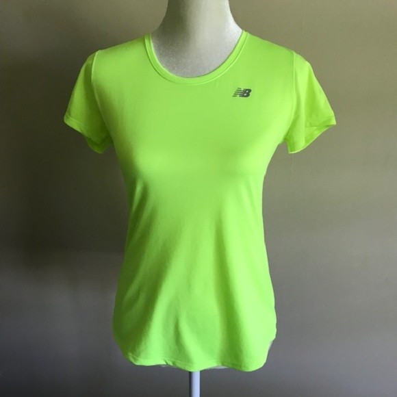 11dabed80e63a New Balance Tops   Dry Neon Green Workout Shirt   Poshmark